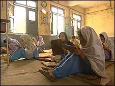 Girls' school without desks