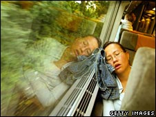 Sleeping on the Eurostar