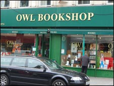 The Owl Bookshop in Kentish Town