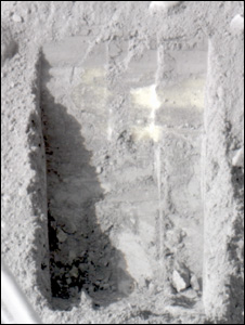 Mars trench