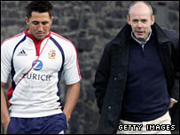 Gavin Henson and Clive Woodward
