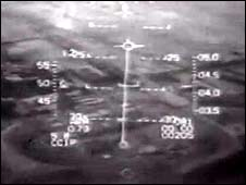 Cockpit footage of Israel's 1981 attack on Iraq's nuclear reactor at Osirak