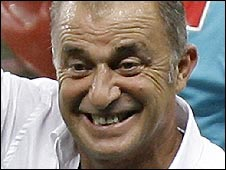 Turkey manager Fatih Terim