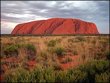 Uluru, also known as Ayers Rock (file photo)