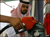 Gasolinera en Arabia Saudita