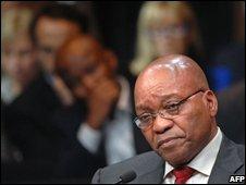 ANC president Jacob Zuma - file picture