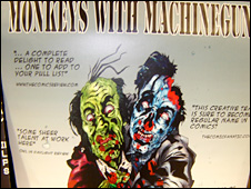 Poster for Monkeys with Machineguns