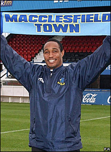 Paul Ince, Macclesfield Town manager