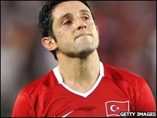 Turkish forward Nihat Kahveci