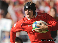 Leigh Halfpenny's try and good kicking were not enough for Wales