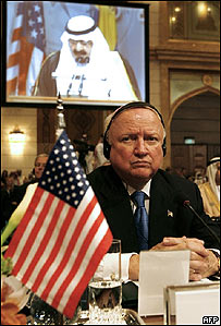 El secretario de Energ�a de EE.UU., Samuel Bodman