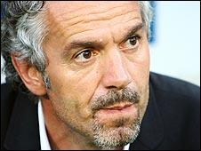 Italy coach Roberto Donadoni