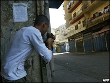 Gunmen in Tripoli