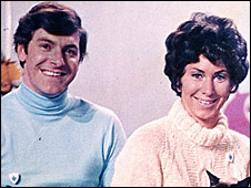 Peter Purves and Valerie Singleton