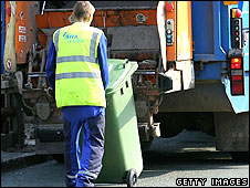 Refuse worker