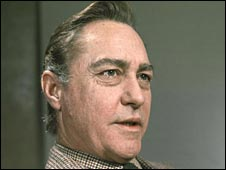 Actor Richard Todd. Pic by BBC