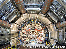 Atlas Inner Detector End-Cap (Cern/Claudia Marcelloni/Max Brice)