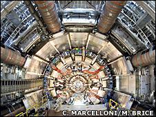 Atlas Inner Detector End-Cap (Cern/Claudia Marcelloni/Max Brice)