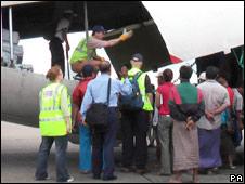 UK aid in Burma