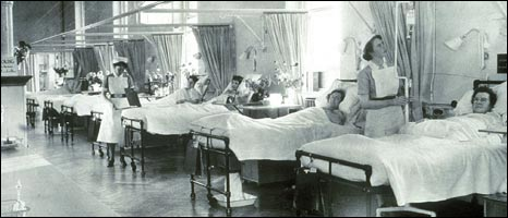 Nurses at work. Pic courtesy of Addenbrooke's Hospital