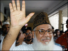 Matiur Rahman Nizami, leader of Jamaat-e-Islami