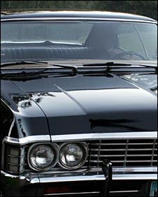 The 1967 Chevy Impala the boys drive is known as the Metallicar by fans
