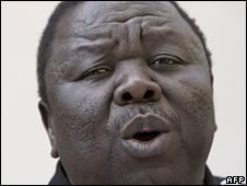 Morgan Tsvangirai (22/06/08)