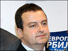Socialist Party leader Ivica Dacic
