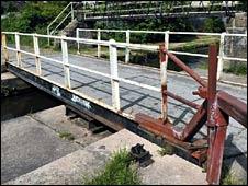Buxton Lane Swing Bridge (Photo courtesy of MEN Syndication)