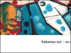 Kubatana blog screen grab
