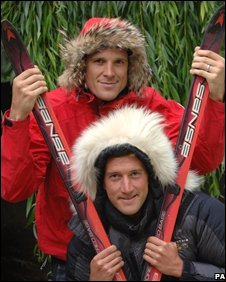James Cracknell and Ben Fogle