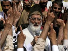 Separatist leader Syed Ali Shah Geelani