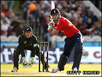 Kevin Pietersen in Twenty20 action against New Zealand