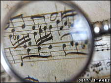 Music magnifying glass
