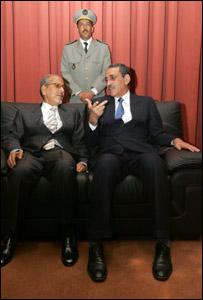 الرئيس الموريتاني ورئيس المجلس العسكري السابق