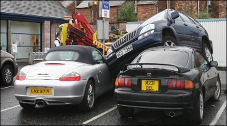 Parking Fail. Photo by Ronan O'Kane