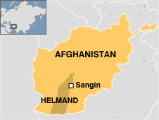 Afghanistan with Helmand and Sangin