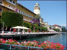 Grand Hotel, Gardone Riviera [Pic: Keith Mellalieu]