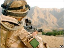 British Para in Afghanistan