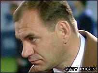 Artmedia Bratislava coach Vladimir Weiss