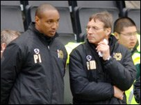 Paul Ince (left) and Ray Mathias (right)