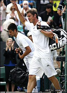 Marat Safin and Novak Djokovic