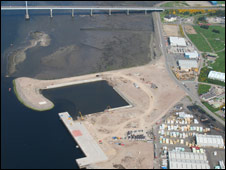Inverness Harbour development