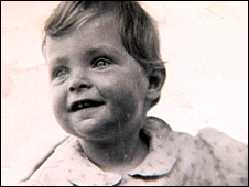 Susan as a baby