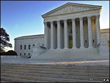US Supreme Court building, Washington DC (File picture)