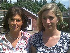 Rosemarie and Clarissa Percy