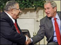 بوش وطالباني 25-06-08