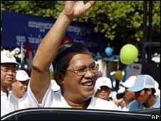 Prime Minister Hun Sen campaigns in Phnom Penh