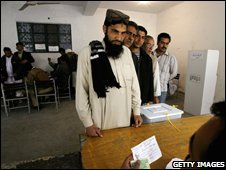 Polling in Pakistan