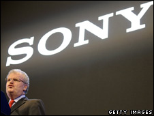Sony chief executive Howard Stringer at Thursday's news conference